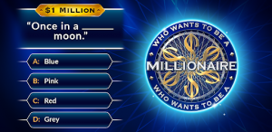 Wants to be millionaire